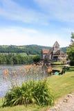 Beaulieu sur Dordogne, Correze, Γαλλία προκυμαία Στοκ φωτογραφία με δικαίωμα ελεύθερης χρήσης