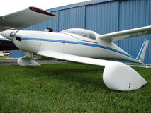 Beaulifully home-built experimental Quickie Q2 airplane. Royalty Free Stock Images