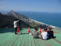 Beaultiful Rock - Rio de Janeiro Royalty Free Stock Images