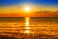 Beaultiful sunset Royalty Free Stock Photos