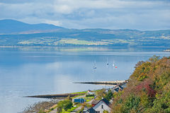 Beauly Firth from Kessock Bridge Royalty Free Stock Image