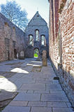 Beauly Priory. The interior of  Beauly Priory established in 1230 and  which was a Cistercian monastic community from around 1510 Stock Image