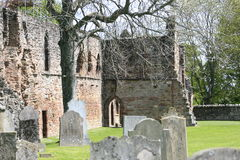 Beauly Priory Graveyard Royalty Free Stock Photos