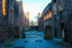 Beauly Priory sunset glow Stock Photos