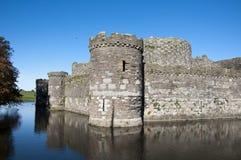 beaumaris城堡 库存照片