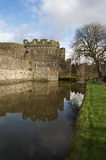 Beaumaris castle Stock Image