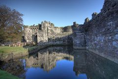Beaumaris castle Royalty Free Stock Image