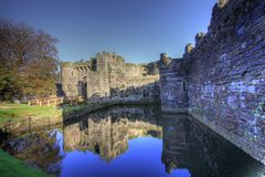 Beaumaris castle Stock Photo