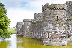 Beaumaris castle in Anglesey Stock Photos