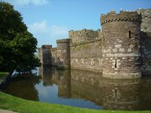 Beaumaris Castle Stock Images