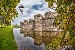 Beaumaris Castle in Anglesey, North Wales, United Kingdom, series of Walesh castles Stock Image