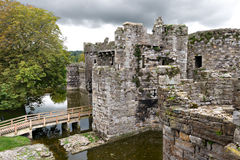 Beaumaris Castle in Anglesey, Wales Royalty Free Stock Photography