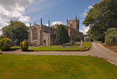 Beaumaris Parish Church. Was built in the 14th century and is dedicated to St Mary and St Nicholas Royalty Free Stock Photo