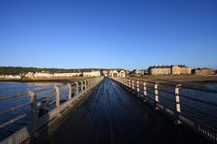 Beaumaris Pier Royalty Free Stock Photos