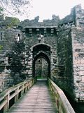 Beaumaris Schloss Lizenzfreies Stockbild
