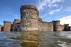 Beaumaris Schloss, Anglesey, Nordwales stockfotos