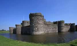 Beaumaris town. With its famous castle Royalty Free Stock Images