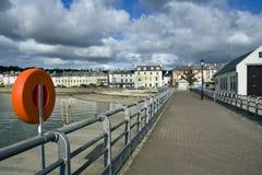 Beaumaris vom Pier Lizenzfreies Stockbild