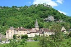 Beaumes-les-Messieurs en el Jura imágenes de archivo libres de regalías