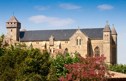 Beaumont Abbey France Imágenes de archivo libres de regalías