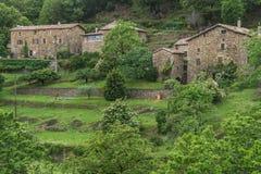 Beaumont, ardeche, France obraz royalty free