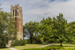 Beaumont Tower at Michigan State University. The Beaumont Tower is a structure on the campus of Michigan State University, designed by the architectural firm of Royalty Free Stock Images