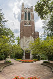 Beaumont Tower at Michigan State University. The Beaumont Tower is a structure on the campus of Michigan State University, designed by the architectural firm of Stock Image