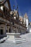 beaune Burgundii cote d hospicjum Zdjęcie Royalty Free