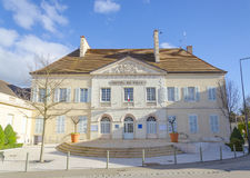 Beaune, city hall, burgundy, France, saone-et-loire Royalty Free Stock Photo