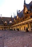 beaune france klosterhärbärge Fotografering för Bildbyråer