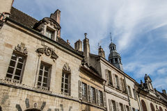 Beaune, France. Beaune is the wine capital of Burgundy in the Côte d'Or department in eastern France. It is located between Paris and Geneva. Beaune is one of Royalty Free Stock Photography