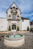 Beaune, France. Beaune is the wine capital of Burgundy in the Côte d'Or department in eastern France. It is located between Paris and Geneva. Beaune is one of royalty free stock images