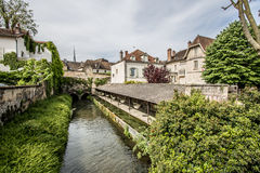 Beaune, France. Beaune is the wine capital of Burgundy in the Côte d'Or department in eastern France. It is located between Paris and Geneva. Beaune is one of royalty free stock image