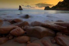 beauport Джерси пляжа Стоковые Изображения