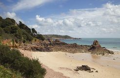 Beauport Bay, Jersey Stock Photo