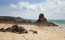 Beauport Bay, Jersey Stock Images