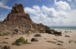 Beauport Bay, Jersey Royalty Free Stock Image
