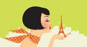 Beauté à Paris Photo libre de droits
