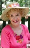 Beauté aînée - heureuse Photo libre de droits