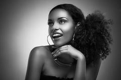 Beauté africaine Photo stock