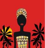 Beauté africaine Image libre de droits
