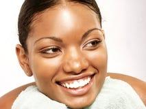 Beauté afro-américaine. photographie stock libre de droits