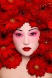 Beauté asiatique Images stock