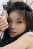 Beauté asiatique Photo stock