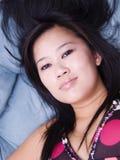 Beauté asiatique Photo libre de droits