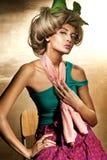 Beauté blonde photographie stock