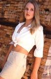 Beauté blonde Photos libres de droits