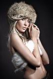 Beauté blonde Image stock