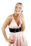 Beauté blonde femelle attrayante Image libre de droits