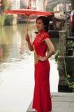 Beauté chinoise à Suzhou photo libre de droits